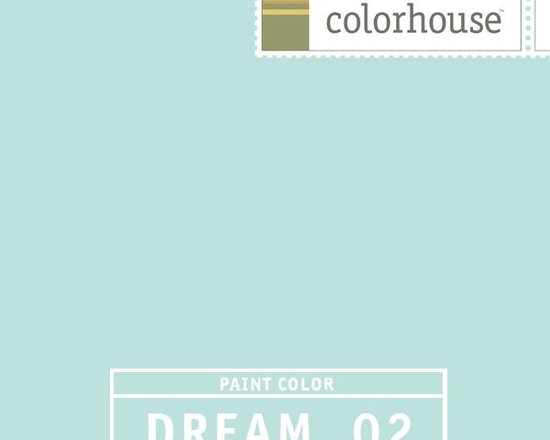 Colorhouse DREAM .02 - Colorhouse DREAM .02: Robin's egg blue. Familiar and comfortable -- it feels like home. Use in baths and kitchens.