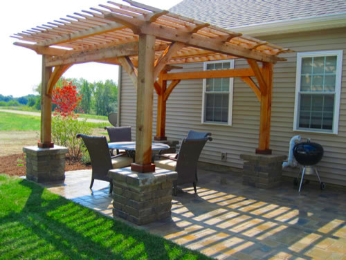 Bellas Landscaping Projects traditional-patio