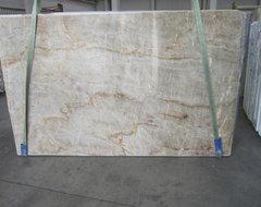 Exotic White Granite Quartzite Slabs from Italy contemporary-kitchen-countertops