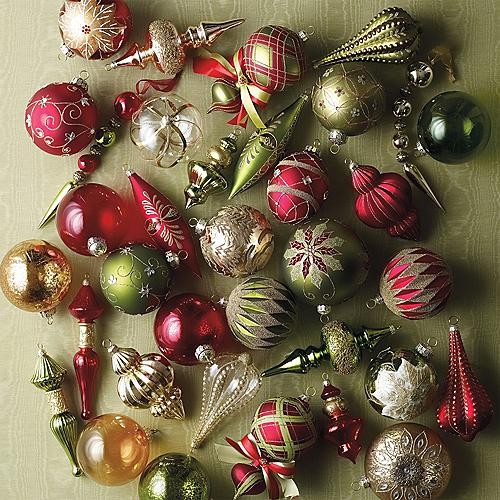 traditional holiday decorations - Christmas Tree Decoration Kits