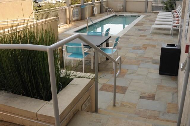 Dallas Hotel contemporary-patio