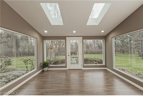help with sunroom off of kitchen