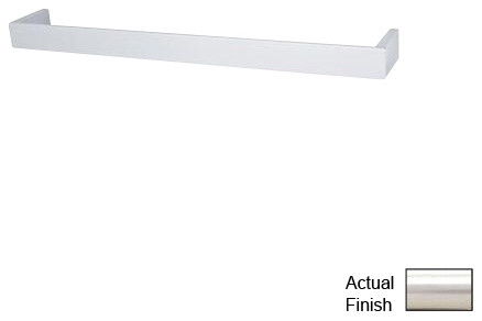 Rohl Modern Wave QU102-STN Towel Bar traditional-towel-bars-and-hooks