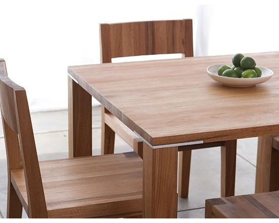 MASHstudios Edge Square Table - Everyone has to eat, but not everyone has a ton of room for a huge table. MASHstudios has you covered with this Edge Square dining table. It's modest footprint lets you have friends over without sacrificing precious square footage.