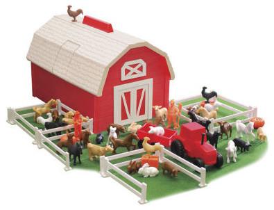 Tier Toys Animal Stacker Barnyard Play Set All Modern