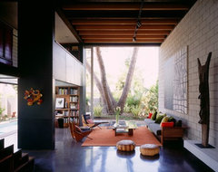 [ Steven Ehrlich Architects ] modern living room
