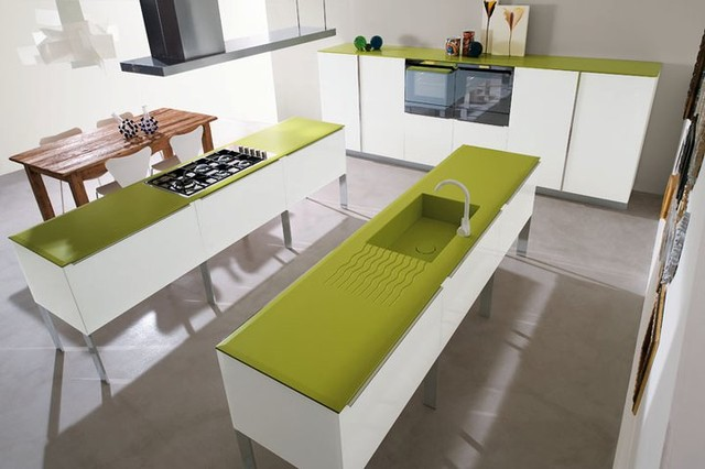 MT600 contemporary-kitchen-cabinets
