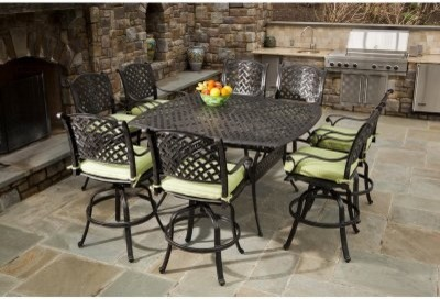 square patio table 8 seats modern patio outdoor