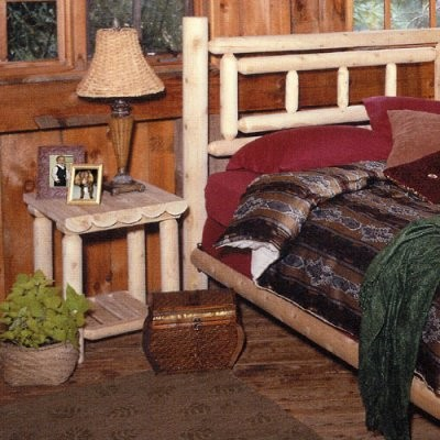 Rustic Natural Cedar Furniture Gateway Nightstand traditional-nightstands-and-bedside-tables