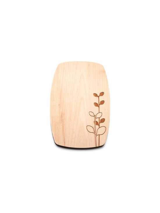 Beehive Laurel Cheese Board - Perfect for entertaining, the Laurel Cheese Board by Beehive is made of solid Maple and engraved with the popular Laurel motif.