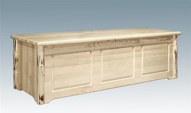 Montana Blanket Chest (Ready to Finish) rustic-accent-chests-and-cabinets