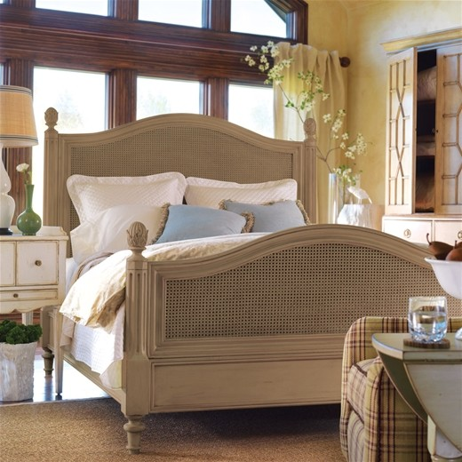 Somerset Bay Frenchtown Bed, Jelly Bean Green, California King Bed traditional-beds
