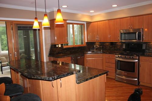 removing overbearing granite backsplash slab the good and the bad