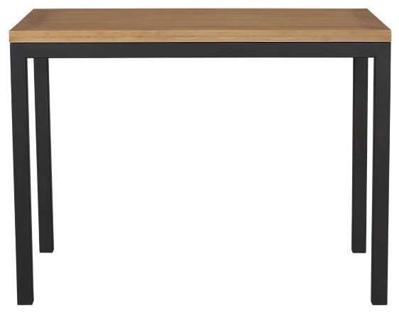 Dining table parsons high dining table for Modern high dining table