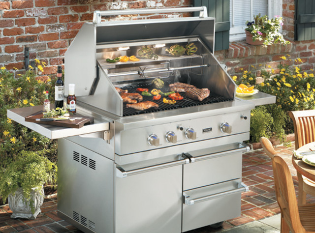 Viking 42 Grill With Optional Cart Vgbq54203ren New