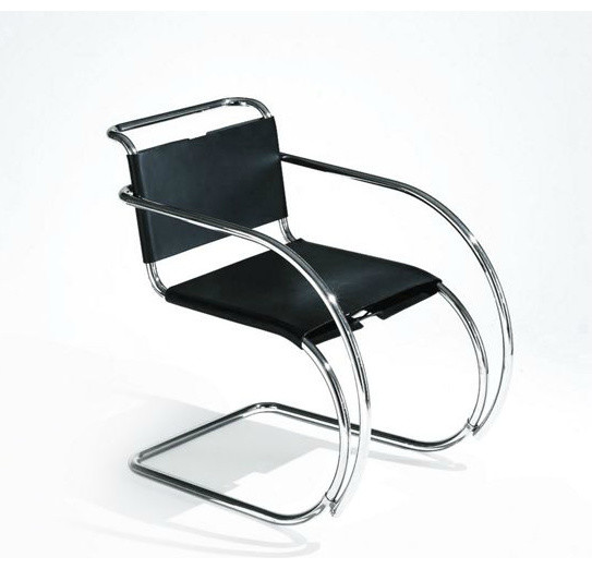 Mr armchair modern dining chairs by design within reach - Mies van der rohe sedia ...