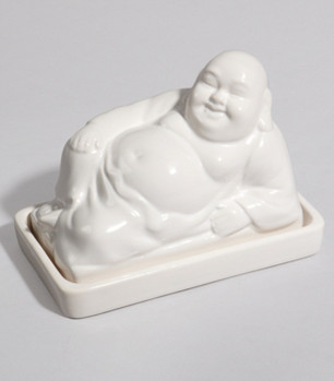 Buddha Butter Dish eclectic-food-containers-and-storage