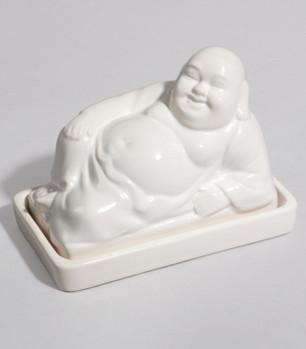 Buddha Butter Dish eclectic-serveware
