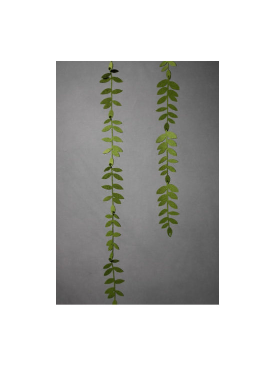 Felted Foliage Garland -