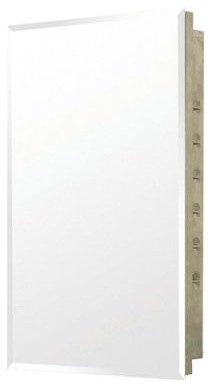 Pegasus Recess Mount Stainless Steel 16W x 26H in. Medicine Cabinet SP4592 modern-medicine-cabinets