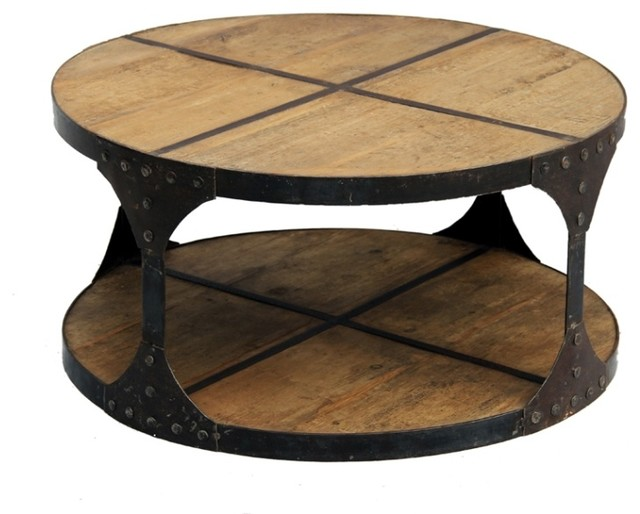 Recycled Wood Industrial Coffee Tables Los Angeles By Terra Nova Designs Inc