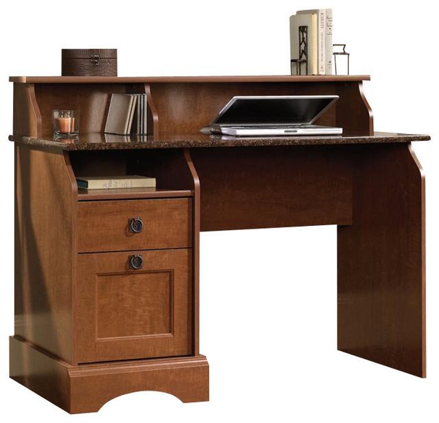 Sauder Graham Hill Desk in Autumn Maple - Transitional - Desks And ...