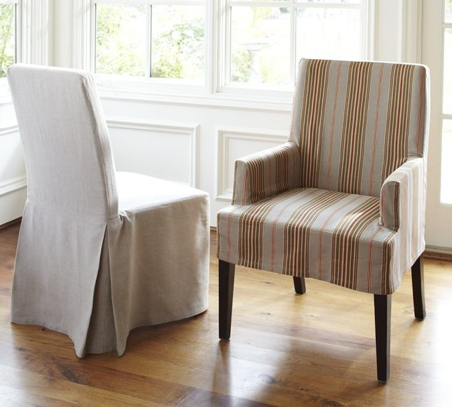 Napa Chair & Slipcovers - modern - dining chairs - by Pottery Barn