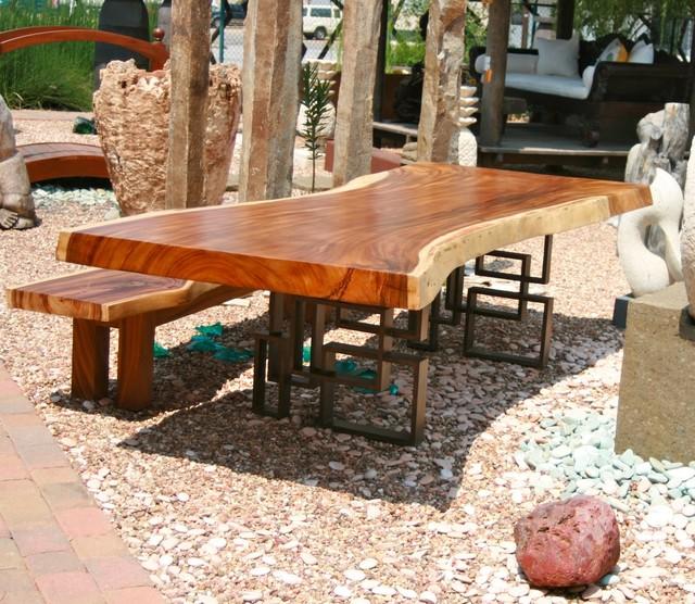 Live Edge Slab Dining Table