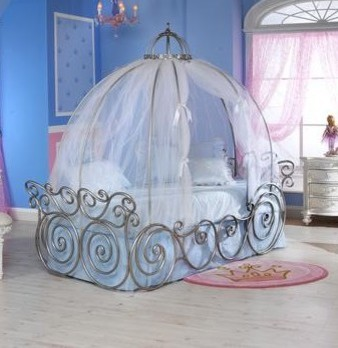 Contemporary kids beds for Cinderella bedroom ideas