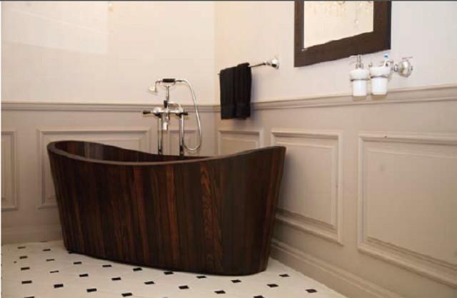 Wooden bath modern-bathtubs