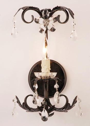 Maura Daniel Single Lulu Sconce Rust eclectic-kids-lighting