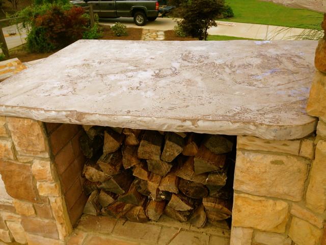custom concrete countertops rustic kitchen countertops