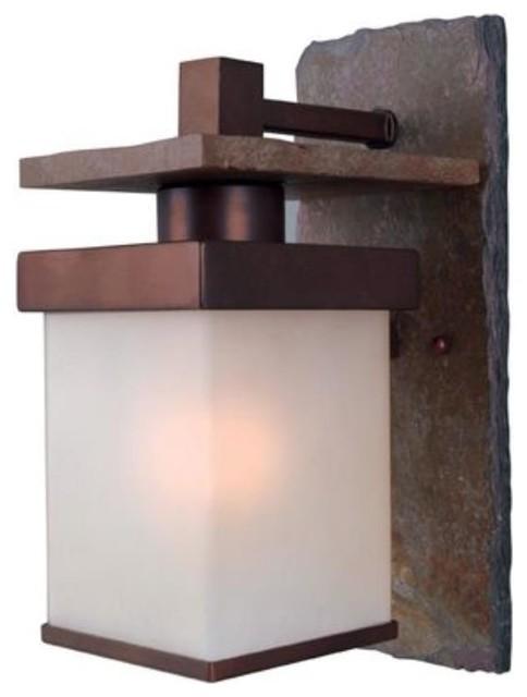 Kenroy-70283COP-Boulder 1 Light Medium Wall Lantern contemporary-outdoor-lighting
