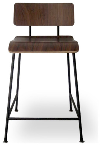 Gus School Stool Modern Bar Stools And Counter