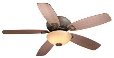 Indoor Ceiling Fans: AireRyder Montreux 52 in. Flushmount Oil Rubbed Bronze Ceil contemporary-ceiling-fans
