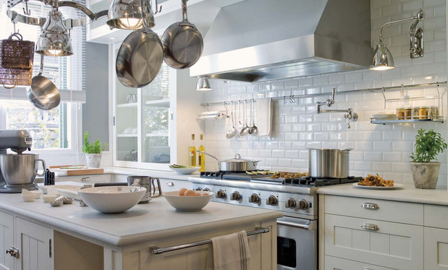 Adex Hampton White Subway Tile Kitchen Backsplash