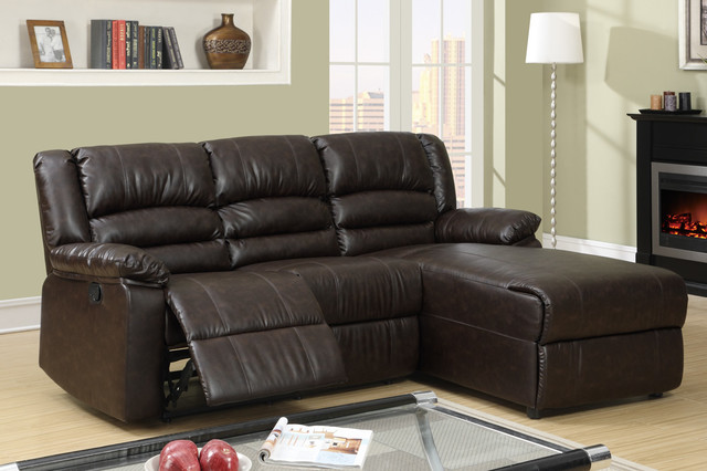 Reclining Sectional Sofa Recliner Right Chaise Modern Sectional Sofas