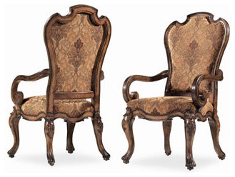 Bernhardt Two Sheraton-Style Armchairs traditional-dining-chairs
