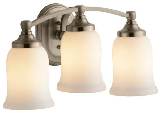 triple sconce contemporary bathroom lighting and vanity lighting