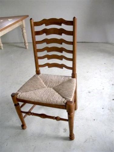 English Ladder-Back Chair farmhouse-dining-chairs