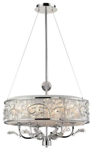 ELK Lighting Calista Chandelier 23004/6 - 26W in. contemporary-chandeliers