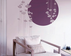 Clover Peel and Stick Botanicals Wall Decals contemporary-decals