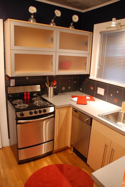 Modern Clear maple kitchen modern