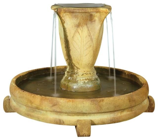 Henri Studio Relic Sargasso Overflowing Vase Fountain mediterranean-outdoor-fountains-and-ponds