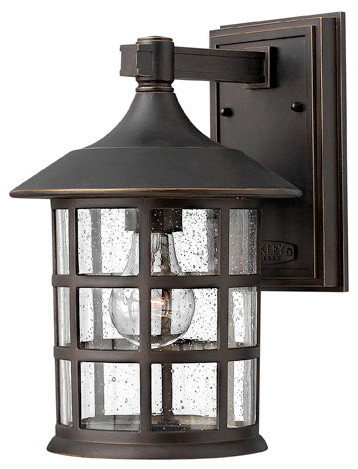 Hinkley Lighting 1804OZ Freeport Oil Rubbed Bronze Outdoor Wall Sconce craftsman-outdoor-wall-lights-and-sconces