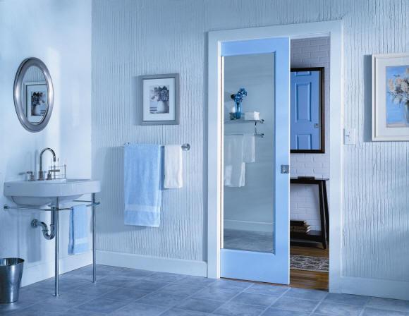 Bypass doors contemporary interior doors - Modern pocket doors interior ...