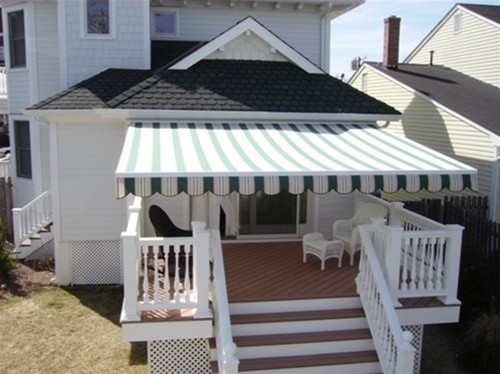 striped awnings by breslow outdoor umbrellas newark