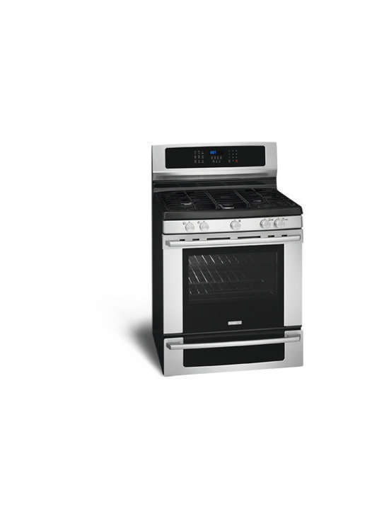 """30"""" Gas Freestanding Range with IQ-Touch Controls by Electrolux - Min-2-Max® Gas Burner"""