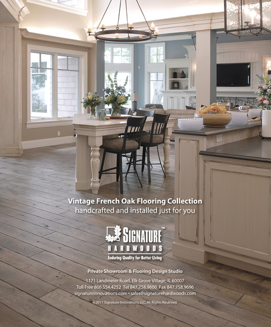 Vintage French Oak Flooring Collection