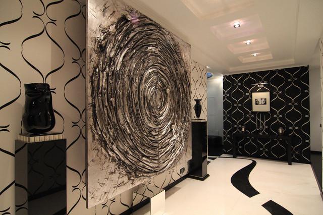 Foyer contemporary-entry